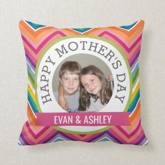 Happy Mother's Day - Custom Photo Template Throw Pillow