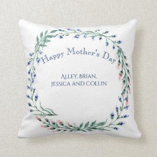 Happy Mother's Day, Custom Photo, Throw Pillow