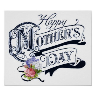 Happy Mother's Day Custom Poster
