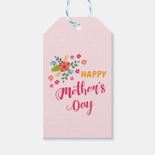 """""""Happy Mother's Day"""" Cute Floral Pink Illustration Gift ..."""