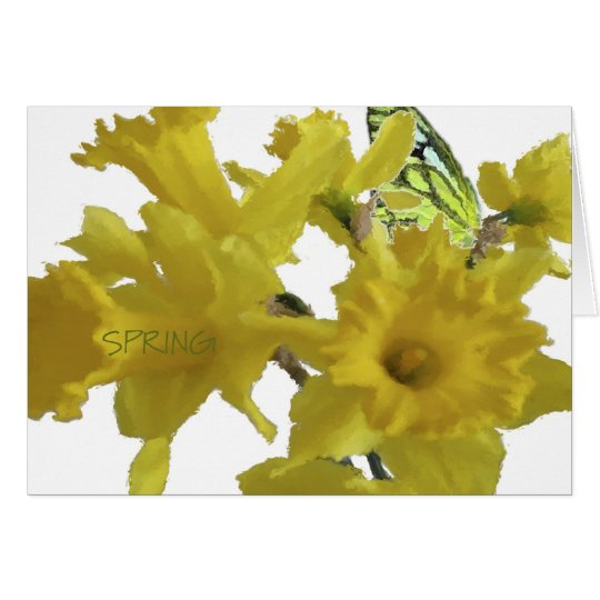 Happy Mother's Day Daffodils Card