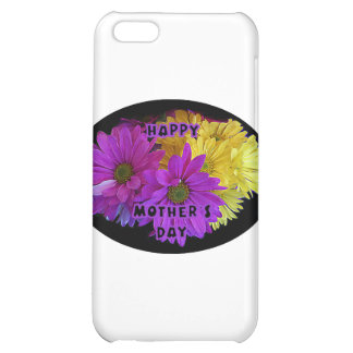 Happy Mother's Day Daisies The MUSEUM Zazzle Gifts Case For iPhone 5C