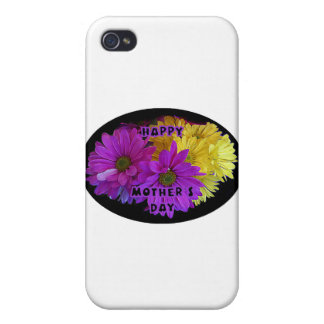 Happy Mother's Day Daisies The MUSEUM Zazzle Gifts iPhone 4 Covers