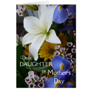 Happy Mother's Day-Daughter-Pretty Floral Card