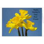 Happy Mother's Day! Dear Friend Cards Daffodils