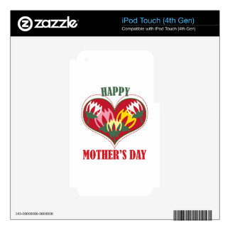 Happy Mothers Day Decals For iPod Touch 4G