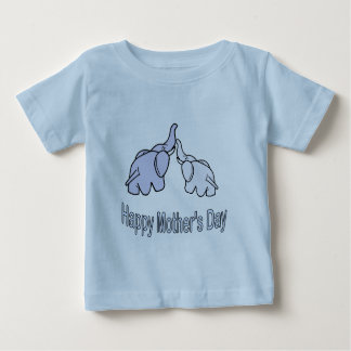 Happy Mothers Day Elephants T Shirt