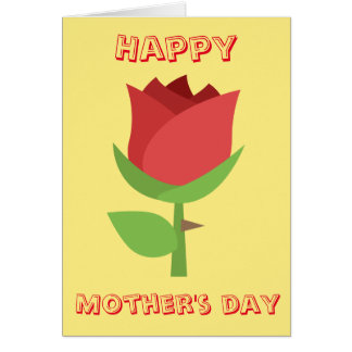 Happy Mother's Day Emoji Card