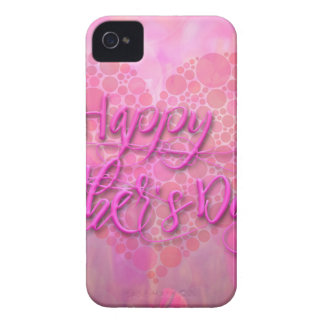 Happy Mothers Day Floral Background Case-Mate iPhone 4 Cases