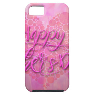Happy Mothers Day Floral Background iPhone SE/5/5s Case