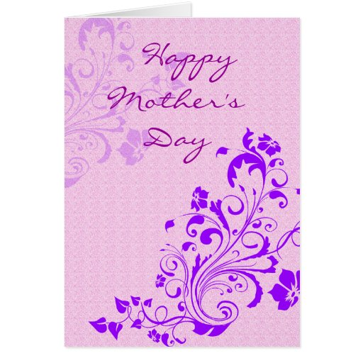Happy Mother's Day Floral Cards | Zazzle