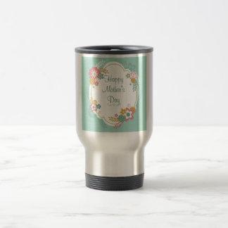 Happy Mother's Day Floral Frame Mug