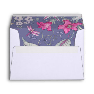 Happy Mother's Day Floral Pattern Custom Envelopes