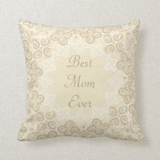 Happy Mother's Day Floral Pattern Pillow