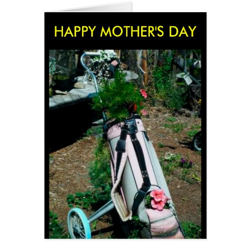 HAPPY MOTHER'S DAY Flower Card
