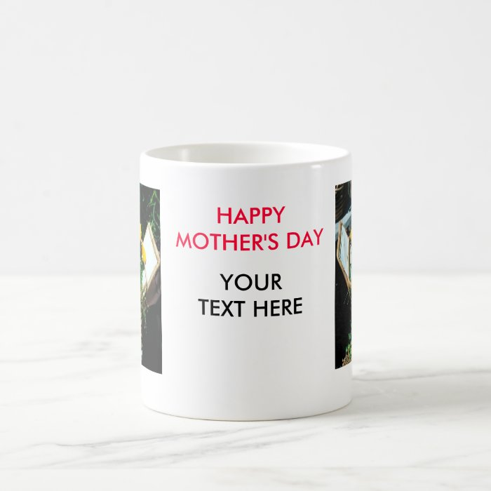HAPPY MOTHER'S DAY Flower Coffee Mug