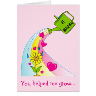 Happy Mother's Day for a Grandmother Card