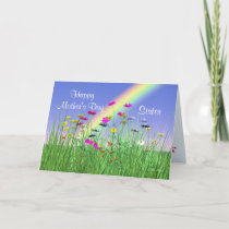 Happy Mothers Day for Sister Spring Flowers Card