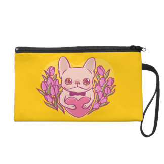 Happy Mother's Day, Frenchie Mama Wristlet