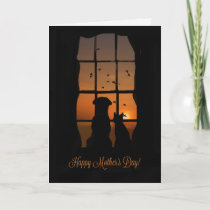 Happy Mother's Day from Dog and Cat Card