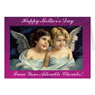 Happy Mother's Day from Your Cherubs! Card