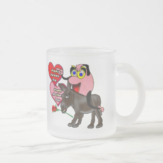 Happy Mothers Day Frosted Glass Coffee Mug
