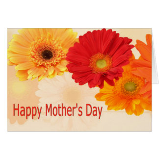 Happy Mother's Day Gerbera Daisies Card