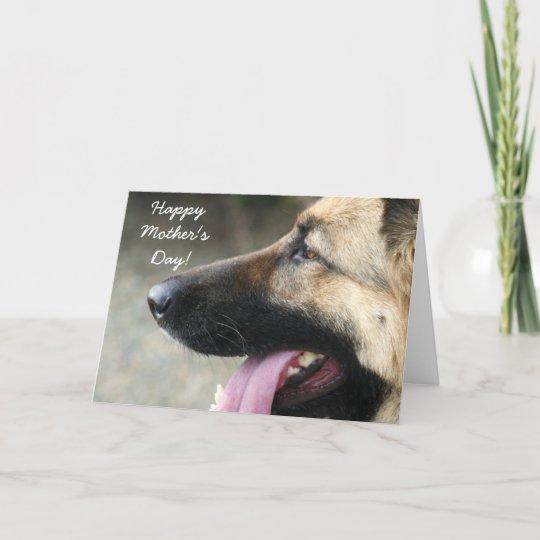 Happy mothers day german shepherd greeting card zazzle happy mothers day german shepherd greeting card m4hsunfo