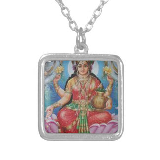 Happy Mothers Day Gift Ideas Hindu Goddess Silver Plated Necklace