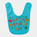 Happy Mother's Day Gifts Baby Bib