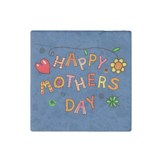 Happy Mother's Day Gifts Stone Magnet