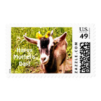 Happy Mother's Day Goat Kid Postage