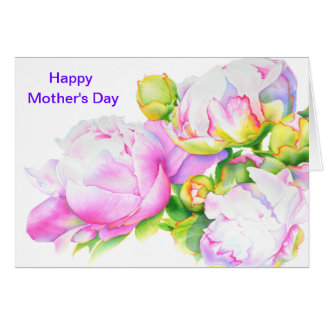 Happy Mother's Day - Grand Peony Card