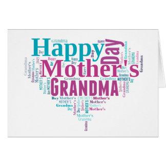 Happy Mothers Day Grandma Card