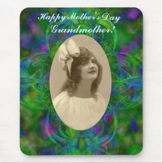 Happy Mother's Day Grandmother Mousepad