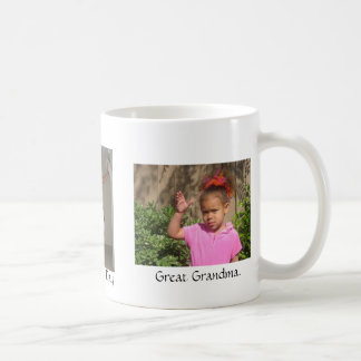 Happy, Mothers' Day, Great Grandma. Coffee Mugs