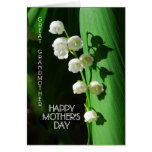 Happy Mother's Day Great Grandmother Lily of the V Greeting Cards