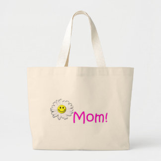 Happy Mother's Day! (Greatest Mom) Jumbo Tote Bag