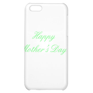 Happy Mother's Day Green The MUSEUM Zazzle Gifts Case For iPhone 5C