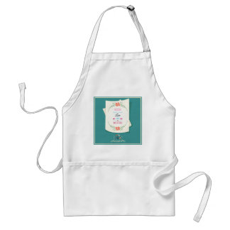 Happy Mother's Day Greeting Adult Apron