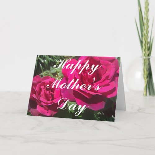 HAPPY MOTHER'S DAY Greeting Card zazzle_card