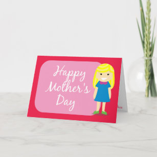 Happy to my daughter mothers day cards greeting photo cards zazzle happy mothers day greeting from a daughter card m4hsunfo