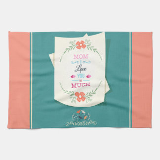 Happy Mother's Day Greeting Hand Towel