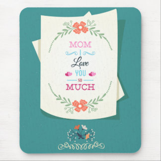 Happy Mother's Day Greeting Mouse Pad