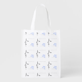 Happy mothers day grocery bags