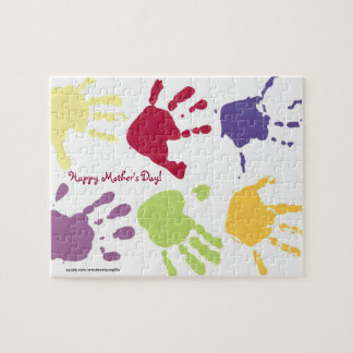 Happy Mother's Day Hands Puzzle