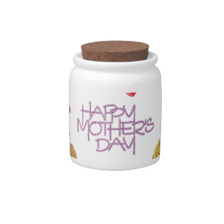 Happy Mothers Day , Hapy Mother's Day May 12th Candy Jar