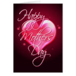 HAPPY MOTHER'S DAY HEART by SHARON SHARPE Cards