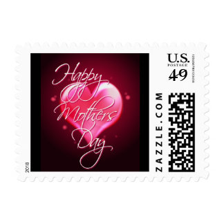 HAPPY MOTHER'S DAY HEART by SHARON SHARPE Postage