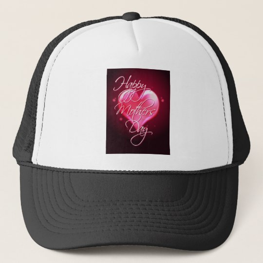 HAPPY MOTHER'S DAY HEART by SHARON SHARPE Trucker Hat